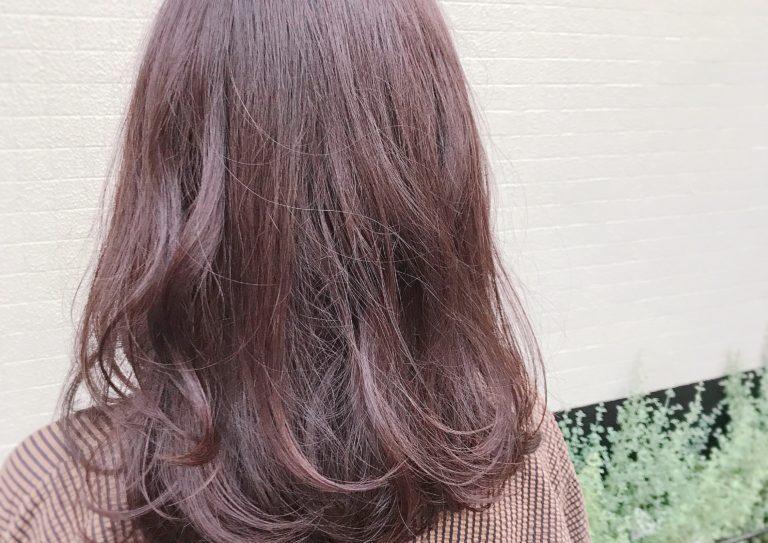 春先取りな髪、